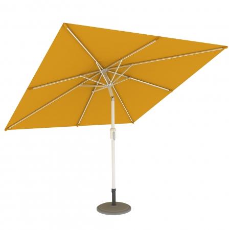 Parasol Ogrodowy, Kwadratowy, 3x3 m, Żółty