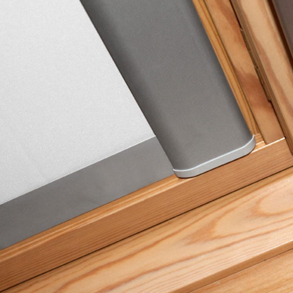 Aluminiowa rama i prowadnice rolety dachowej