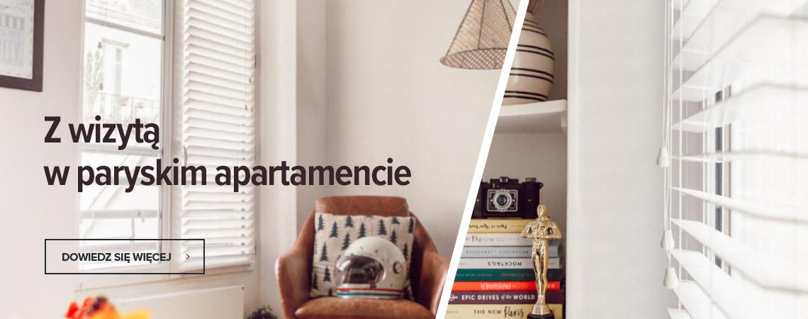 Z wizyta w paryskim apartamencie