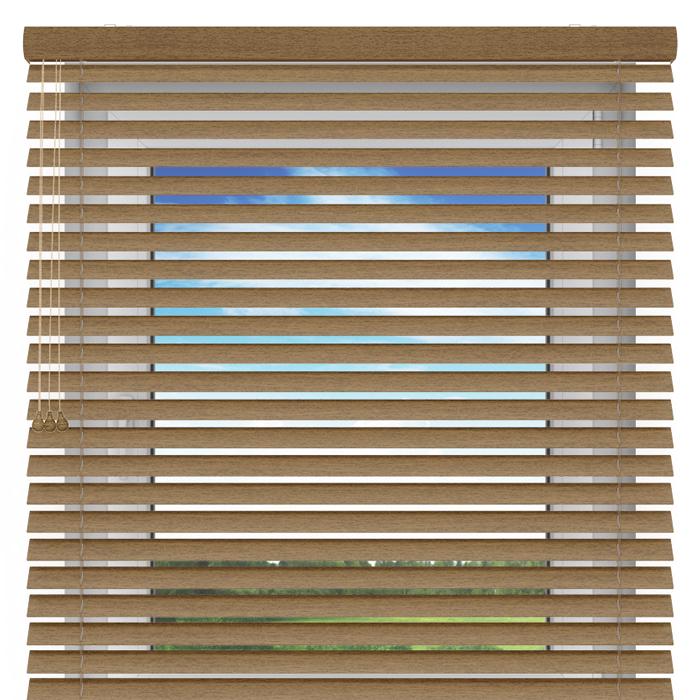 Żaluzja drewniana, 50 mm,  Na wymiar, oregano