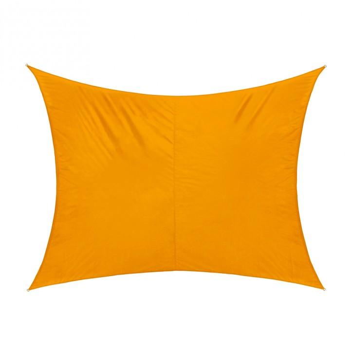 Żagiel przeciwsłoneczny, prostokątny, z tkaniny wodoodpornej