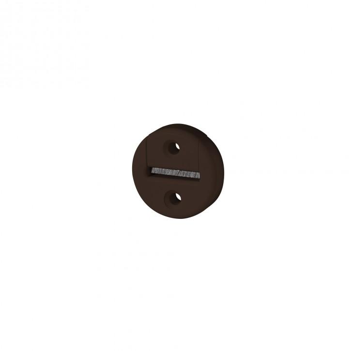 Okrągła prowadnica taśmy z uszczelnieniem szczotkowym, otwór 23 mm