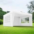 Podgląd: Ścianka z oknem do pawilonów ogrodowych Premium i Basic, 295x195 cm