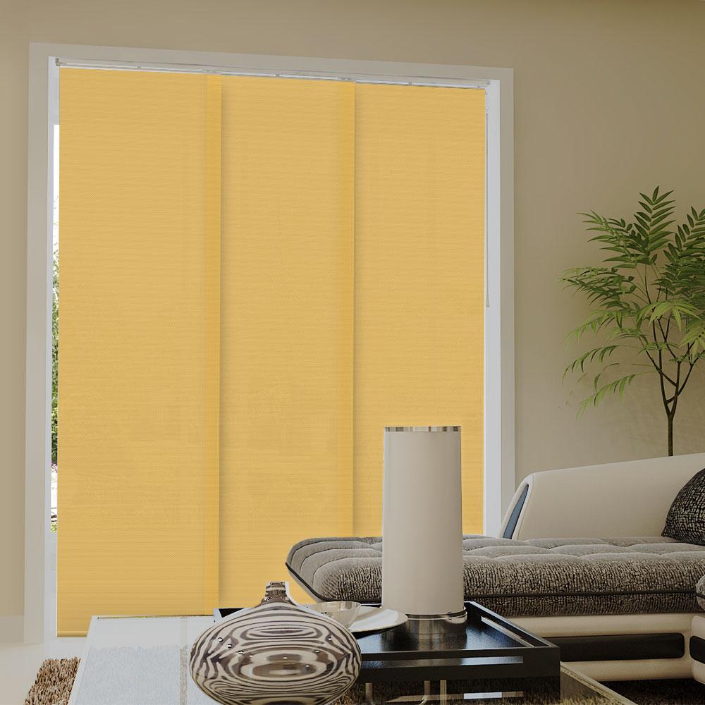 Zasłona panelowa, Przyciemniająca, Promocja, Żółty