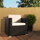 Podgląd: Płotek ogrodowy PVC Standard, szer. listwy 13 mm