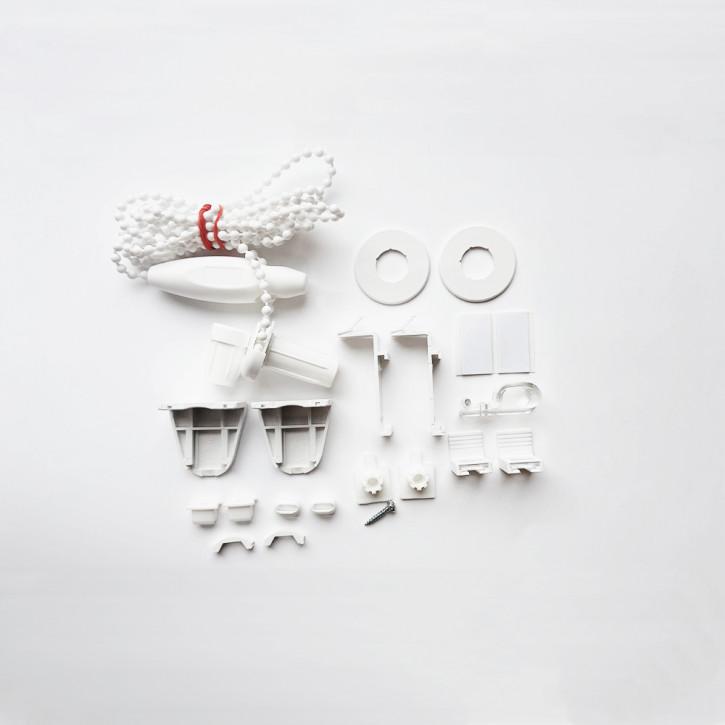 Zestaw montażowy do rolet materiałowych bezinwazyjnych premium
