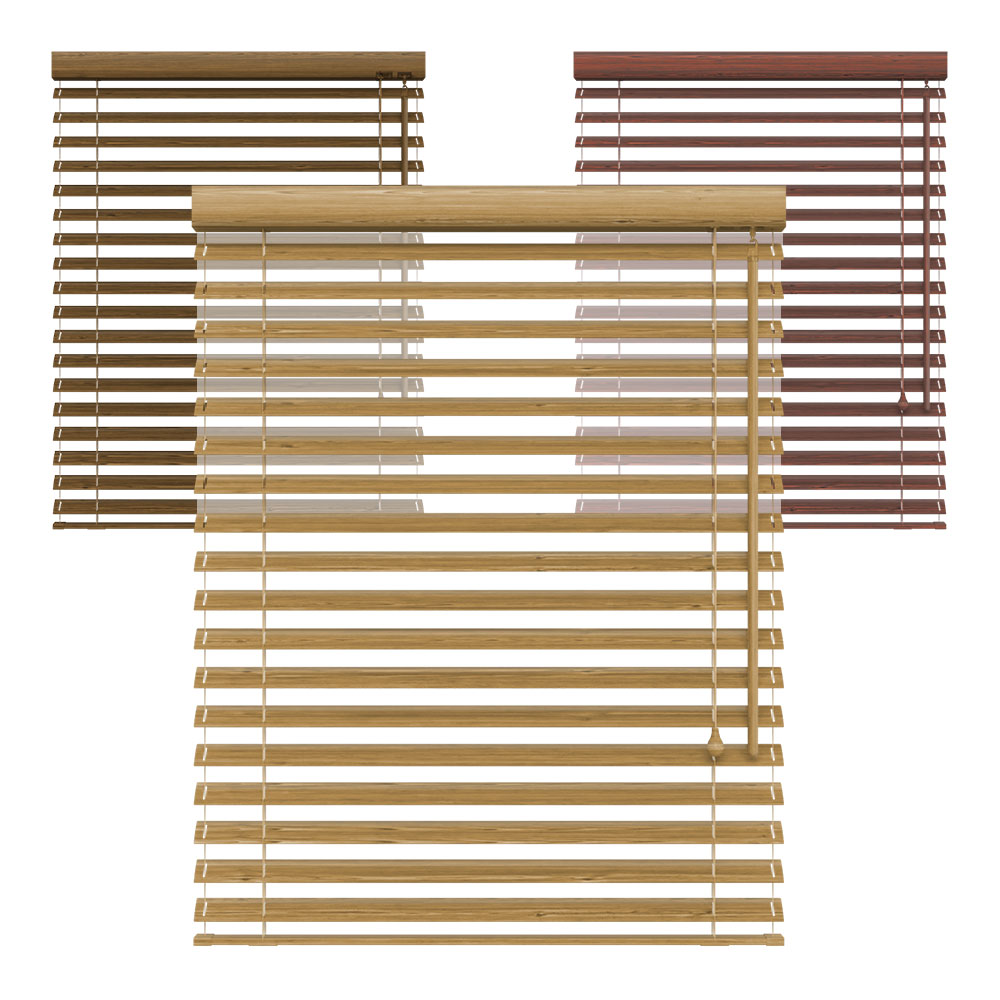 Żaluzja bambusowa, 50 mm, Na wymiar,