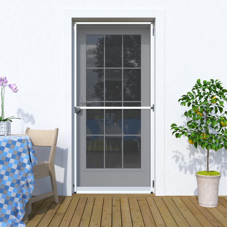 Moskitiera drzwiowa, Na zawiasach 120x220 cm, Gotowa