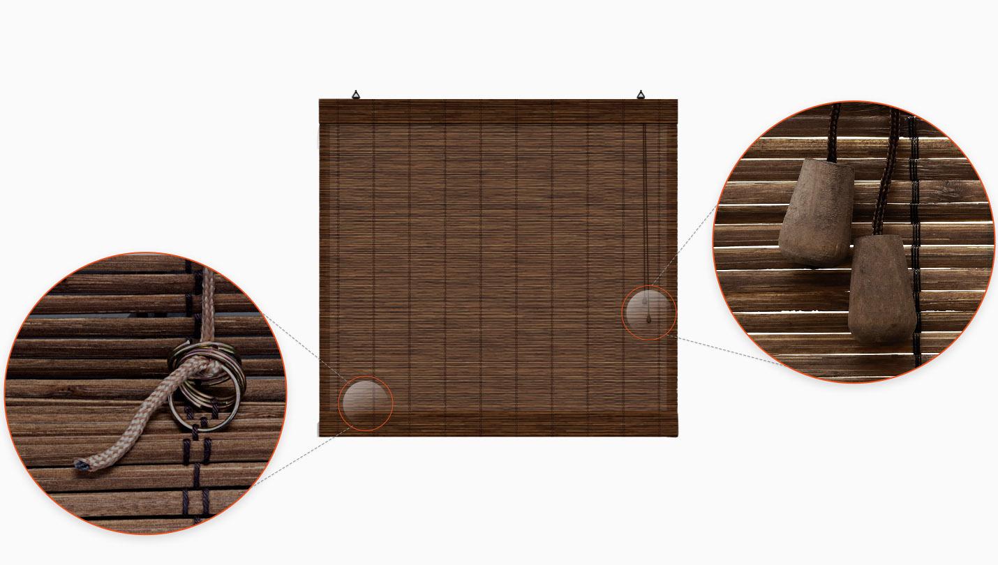 Store en bambou type bateau pas cher ambiance zen - Store bateau pas cher ...