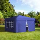 Podgląd: Ścianka z zamkiem do pawilonów ogrodowych Premium i Basic, 295x195 cm