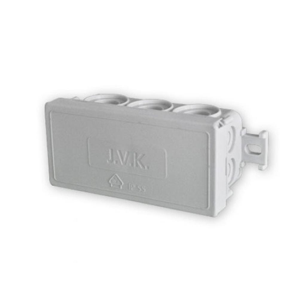 Puszka instalacyjna natynkowa z 12 wejściami ETAK4 (88x42x37 mm)