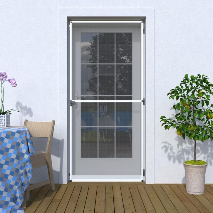 Moskitiera drzwiowa na zawiasach, Na wymiar