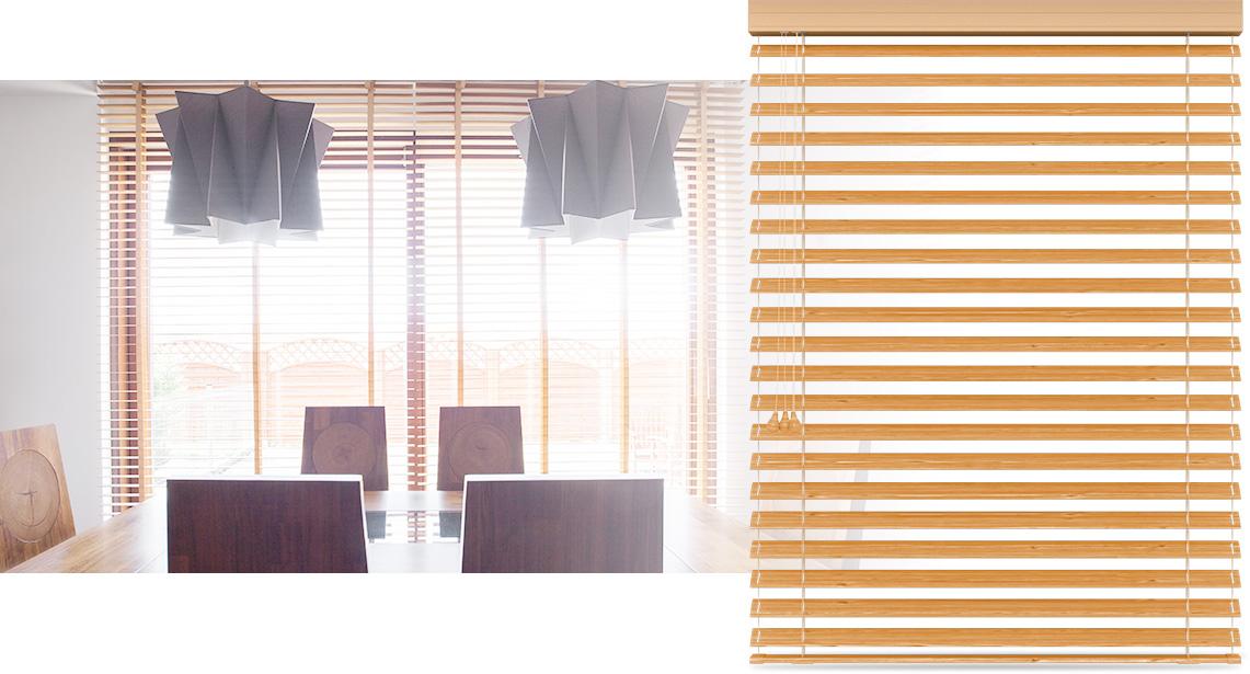 Żaluzja bambusowa na okna 50mm