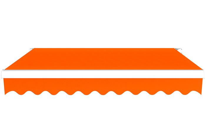 Markiza tarasowa, Gotowa, BASIC, Pomarańczowy
