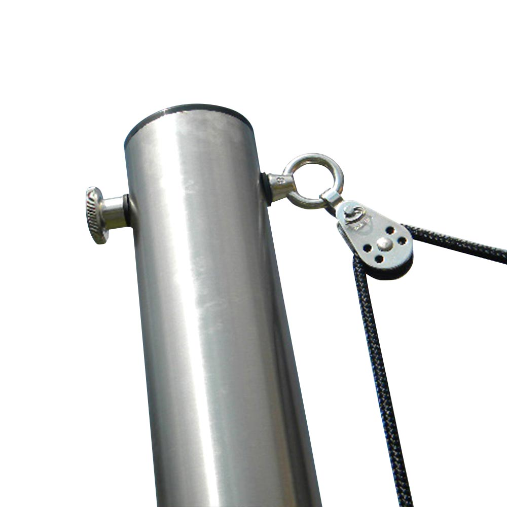 Maszt z regulacją wysokości do żagli przeciwsłonecznych, 70 - 130 cm