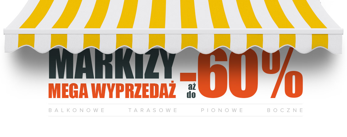 Markizy do -60%