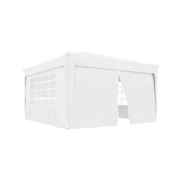 Ścianka z zamkiem do pawilonów ogrodowych Premium i Basic, 295x195 cm