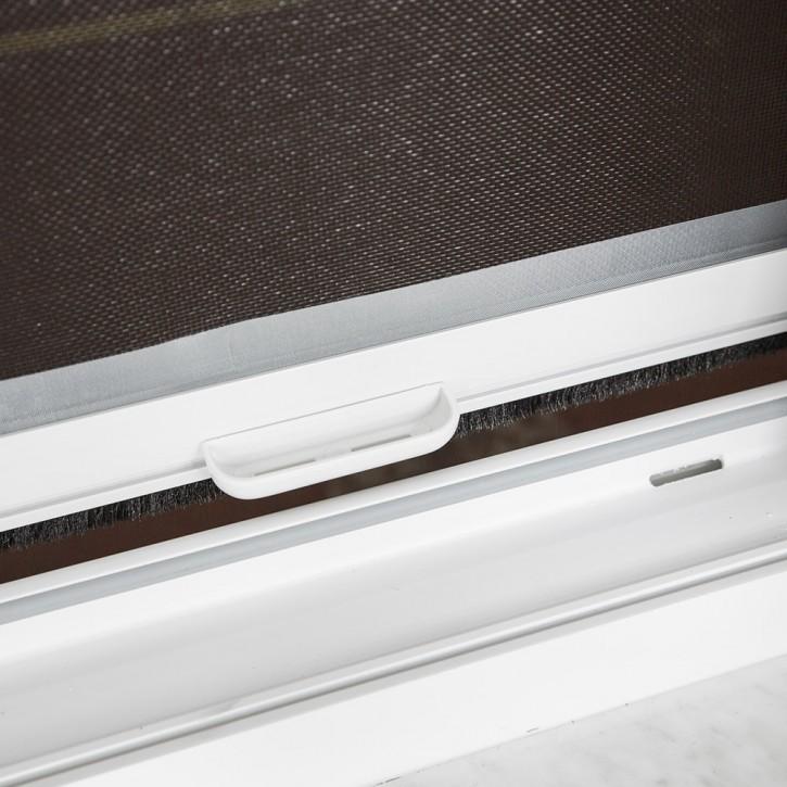 Moskitiera rolowana okienna, PCV, 2w1, Gotowa