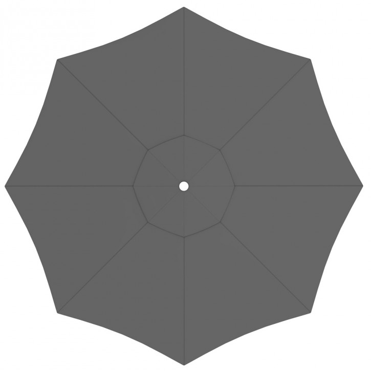 Poszycie parasola ogrodowego paragrandi, okrągłe, 5 m