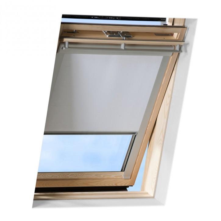 Roleta dachowa pasująca do okien dachowych marki FAKRO ®, Zaciemniająca Outlet