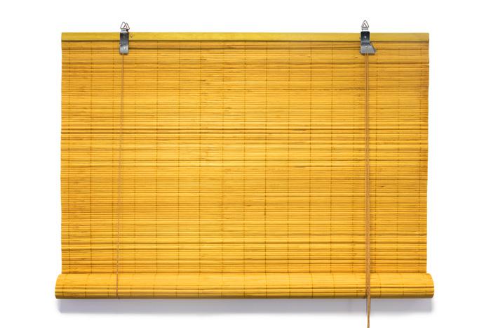 Rolety bambusowe montaż