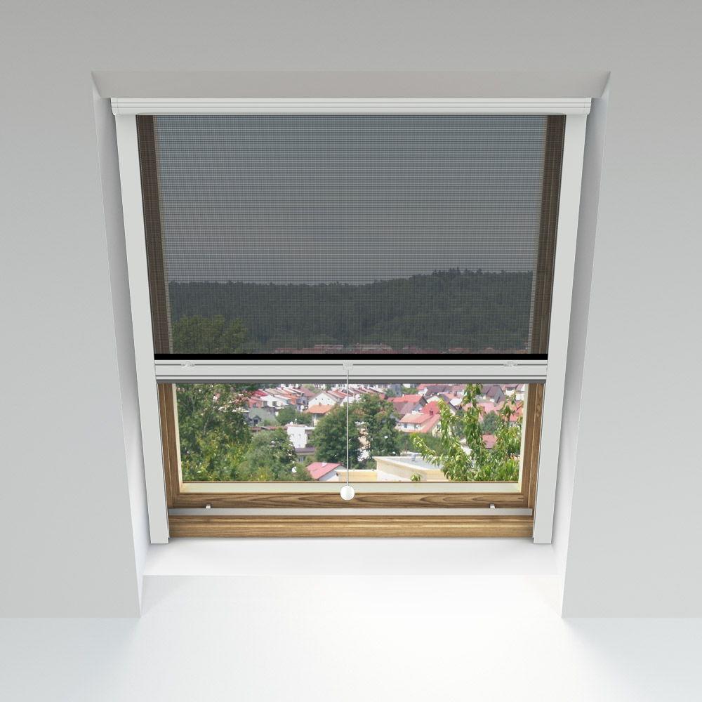 Moskitiera rolowana, Na okna dachowe, Na wymiar,