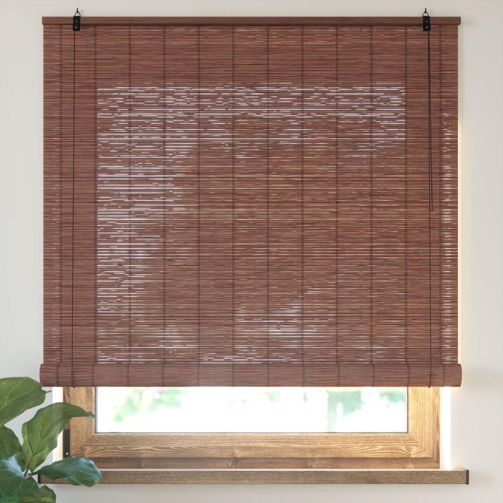 Roleta bambusowa, Gotowa, Wiśniowy