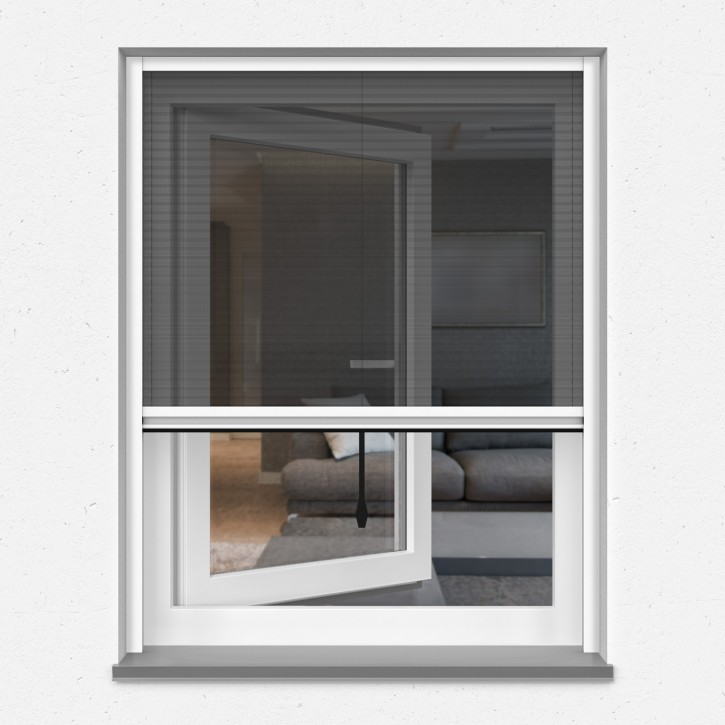 Moskitiera plisowana okienna, Na wymiar