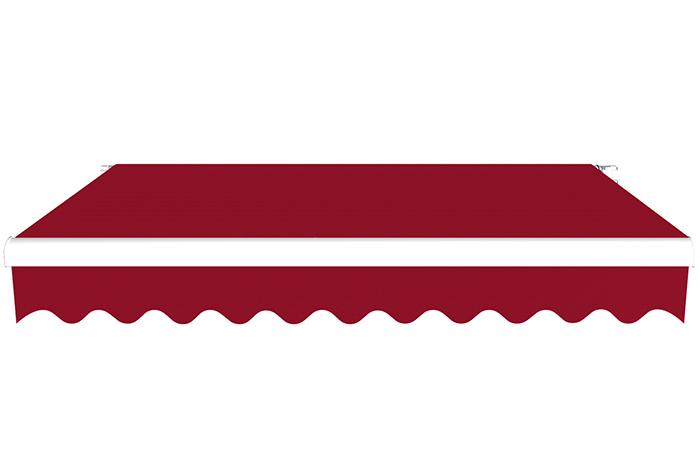 Markiza tarasowa, Gotowa, BASIC, Bordowy