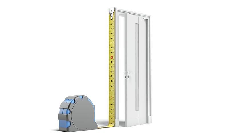 Uniwersalne rozmiary moskitiery drzwiowej
