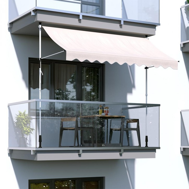 Markiza balkonowa, Gotowa
