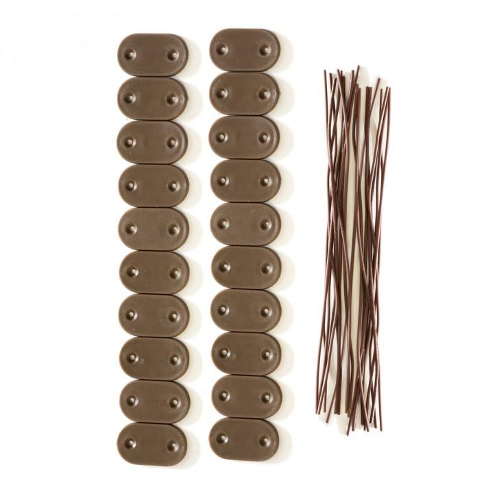 Zestaw elementów mocujących do mat PVC