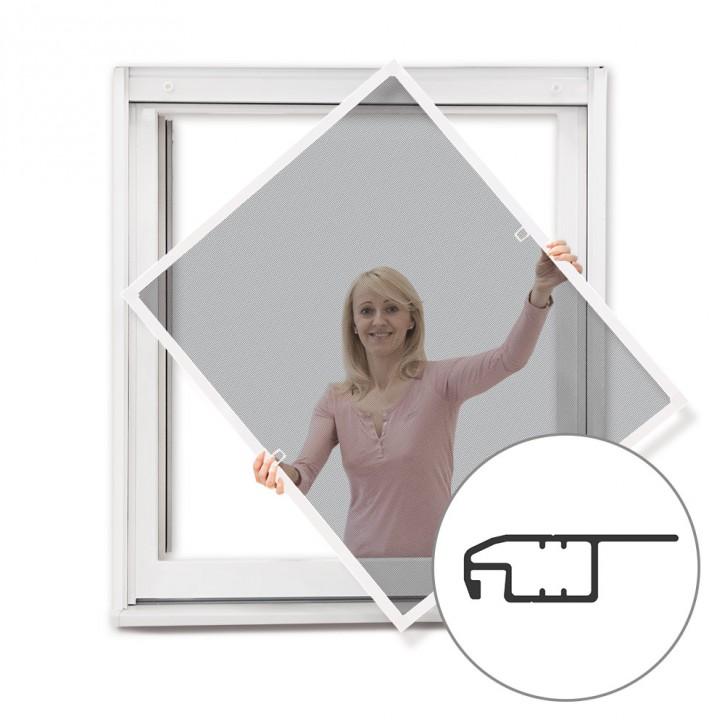 Moskitiera ramkowa okienna, Gotowa