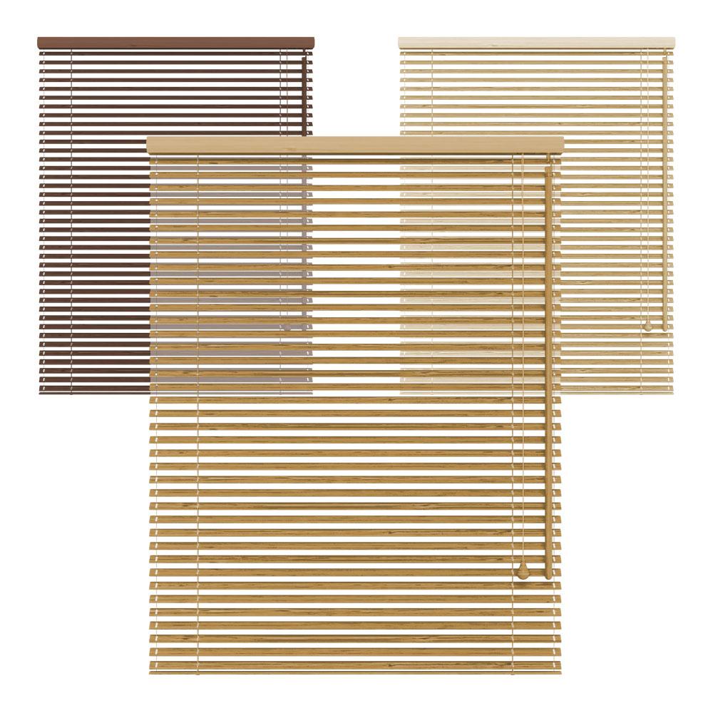 Żaluzja bambusowa, 25 mm, Na wymiar,