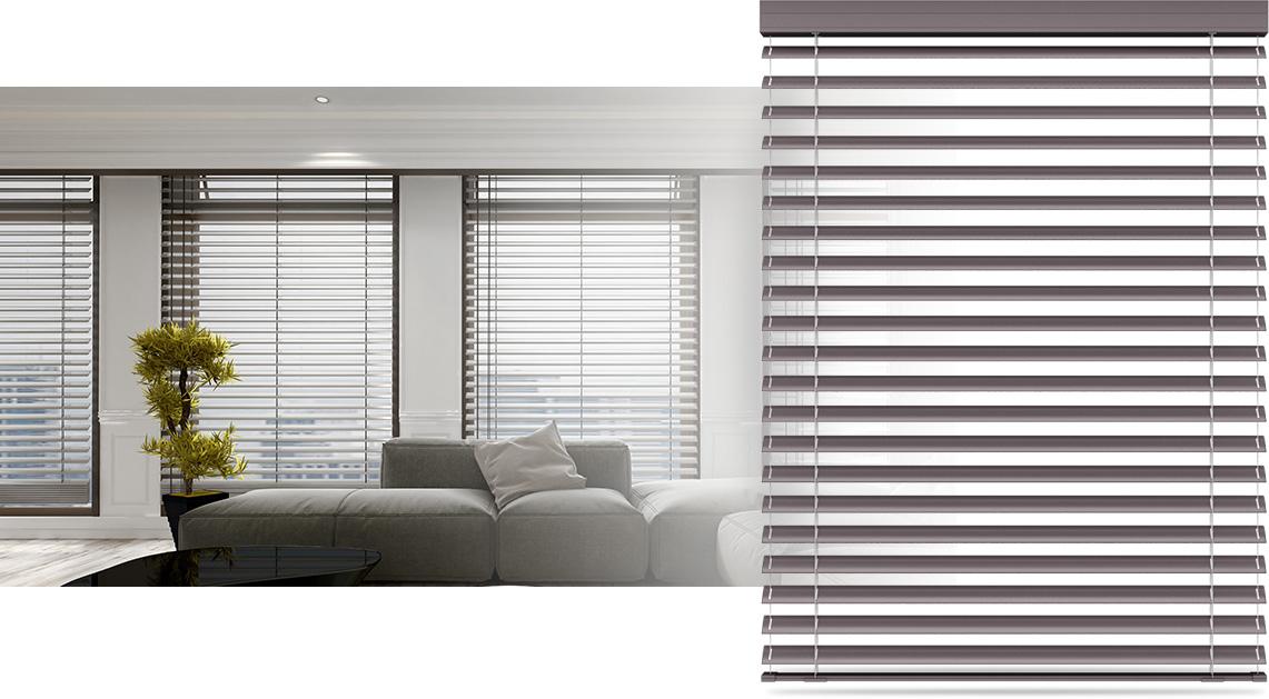 Żaluzja aluminiowa na okna 50mm
