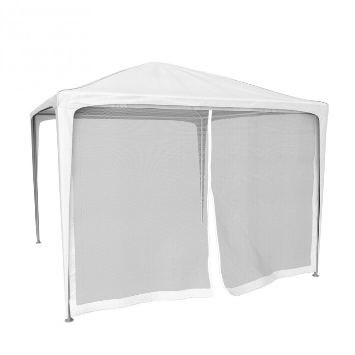 Moskitiera z zamkiem błyskawicznym do namiotów ogrodowych