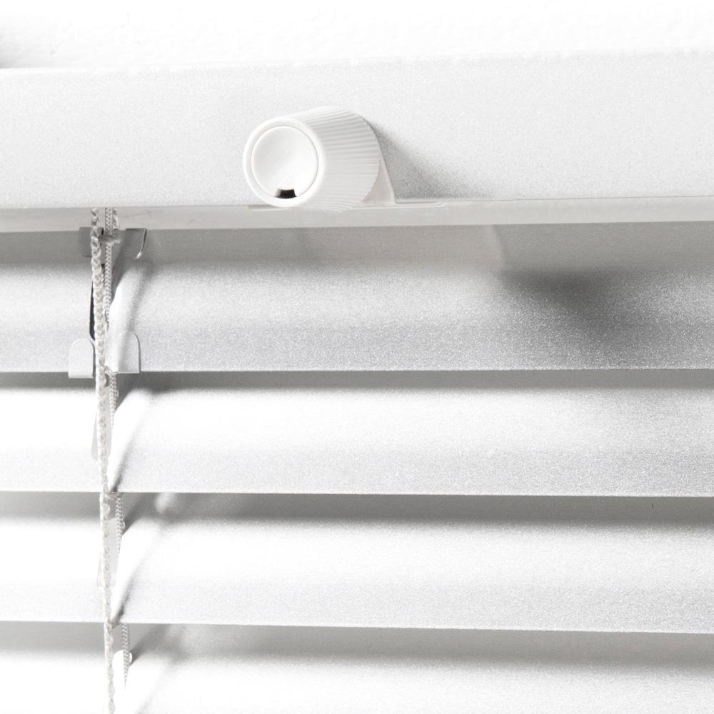 Żaluzja aluminiowa dwukierunkowa, 25mm gotowa