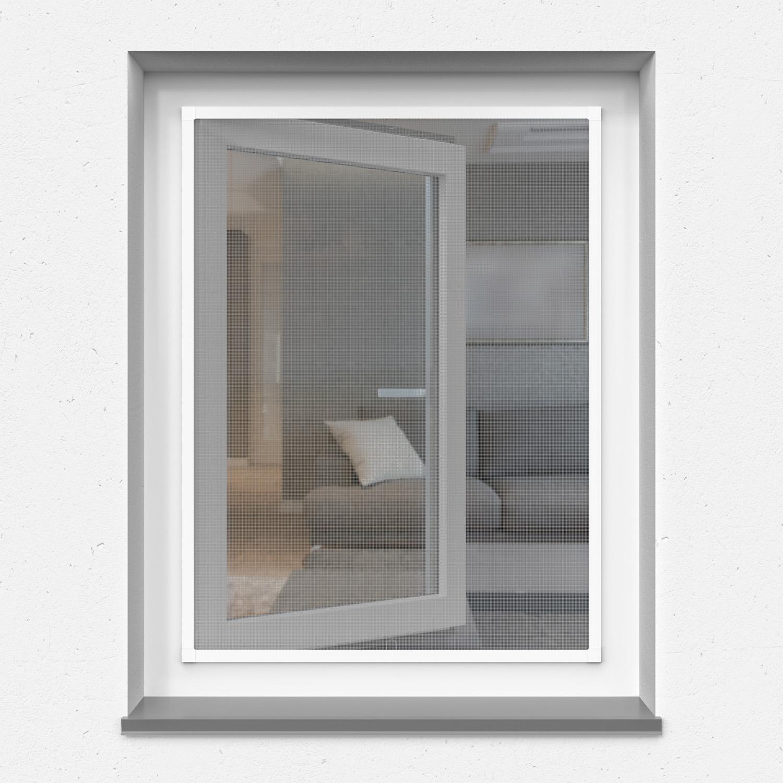 Moskitiera okienna ramkowa, Profil z płetwą, Na wymiar