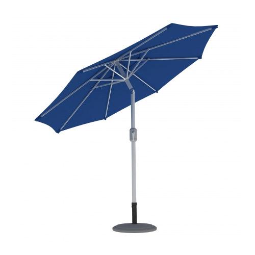 Parasol Ogrodowy, Okrągły, 3,5 m, Niebieski