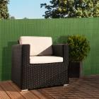 Podgląd: Płotek ogrodowy PVC Standard, szer. listwy 13 mm, Promocja