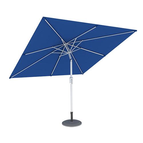 Parasol Ogrodowy, Kwadratowy, 3x3 m, Niebieski