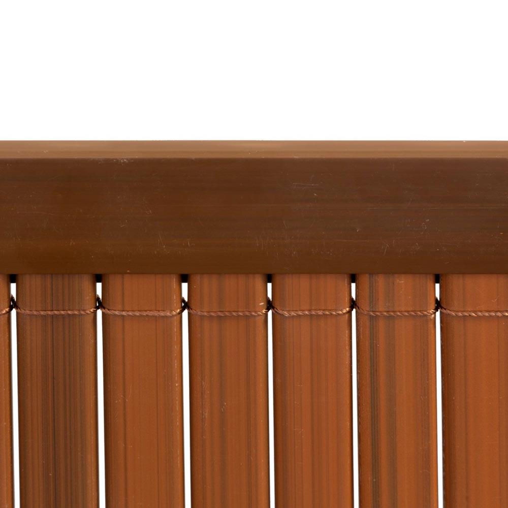 Profil osłonowy do mat PVC, 2 m, Brązowy