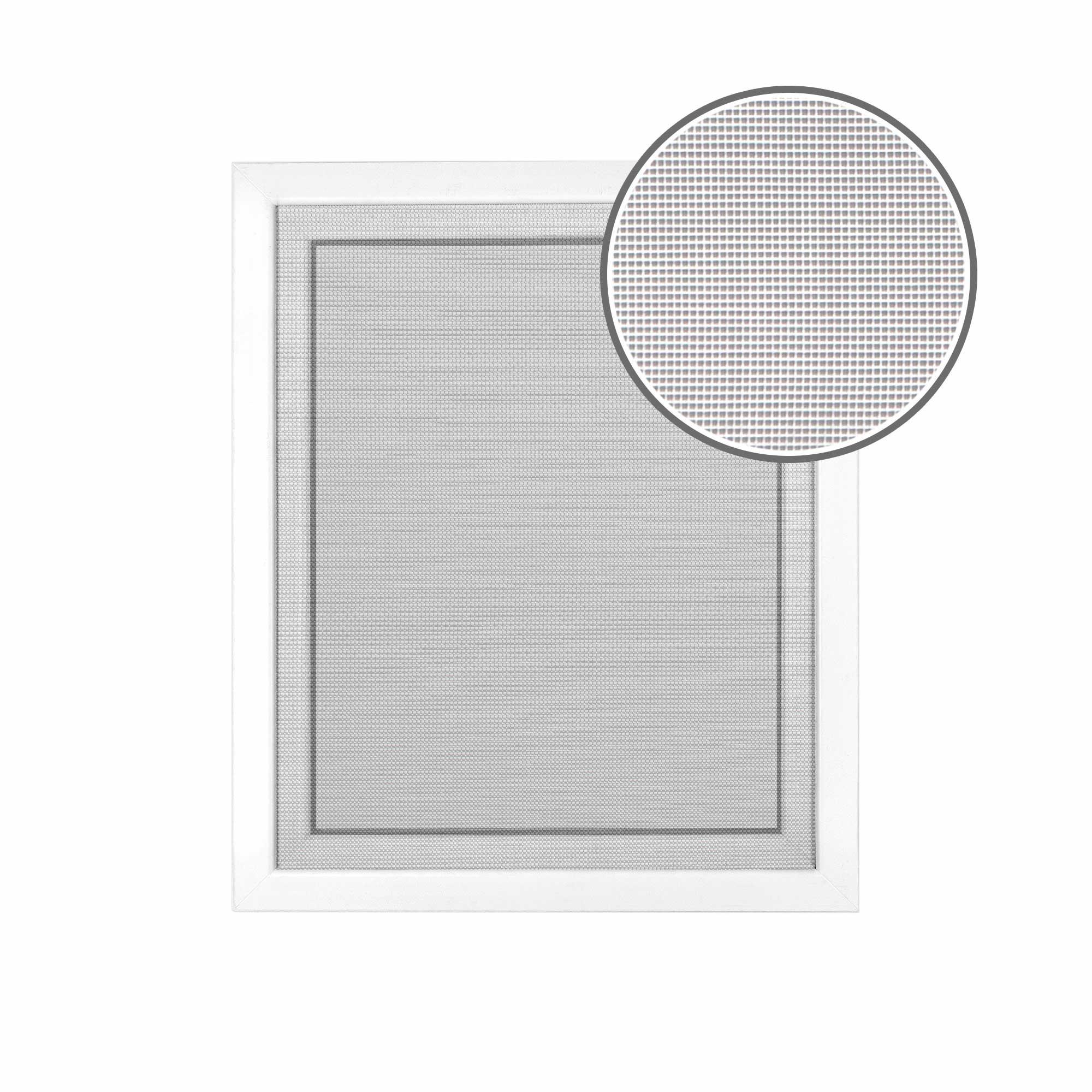 Moskitiera okienna - Siatka, Biały