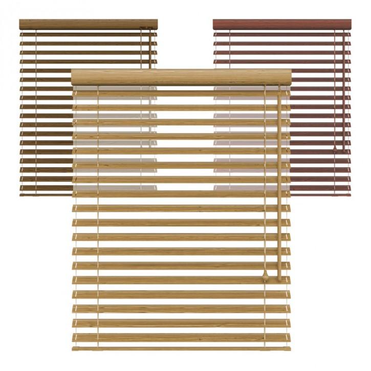 Żaluzja bambusowa, 50 mm, Na wymiar
