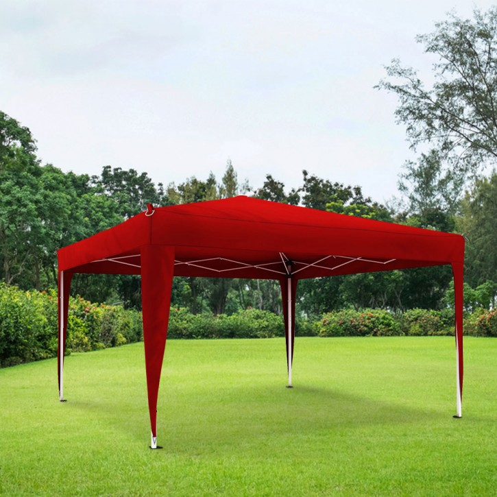 Stelaż z poszyciem do pawilonu ogrodowego Basic, 3x3 m