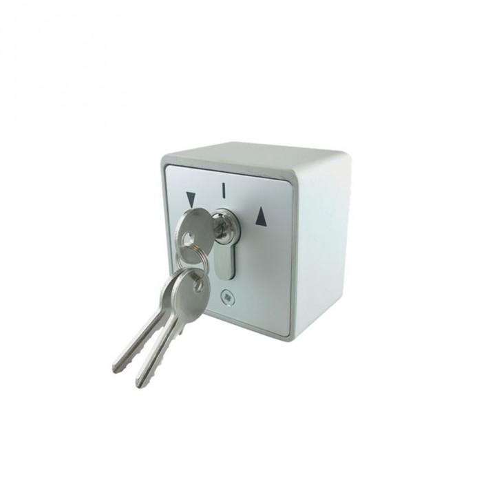 Przełącznik natynkowy, Kluczykowy, AP + 3, Klucze w zestawie Promocja