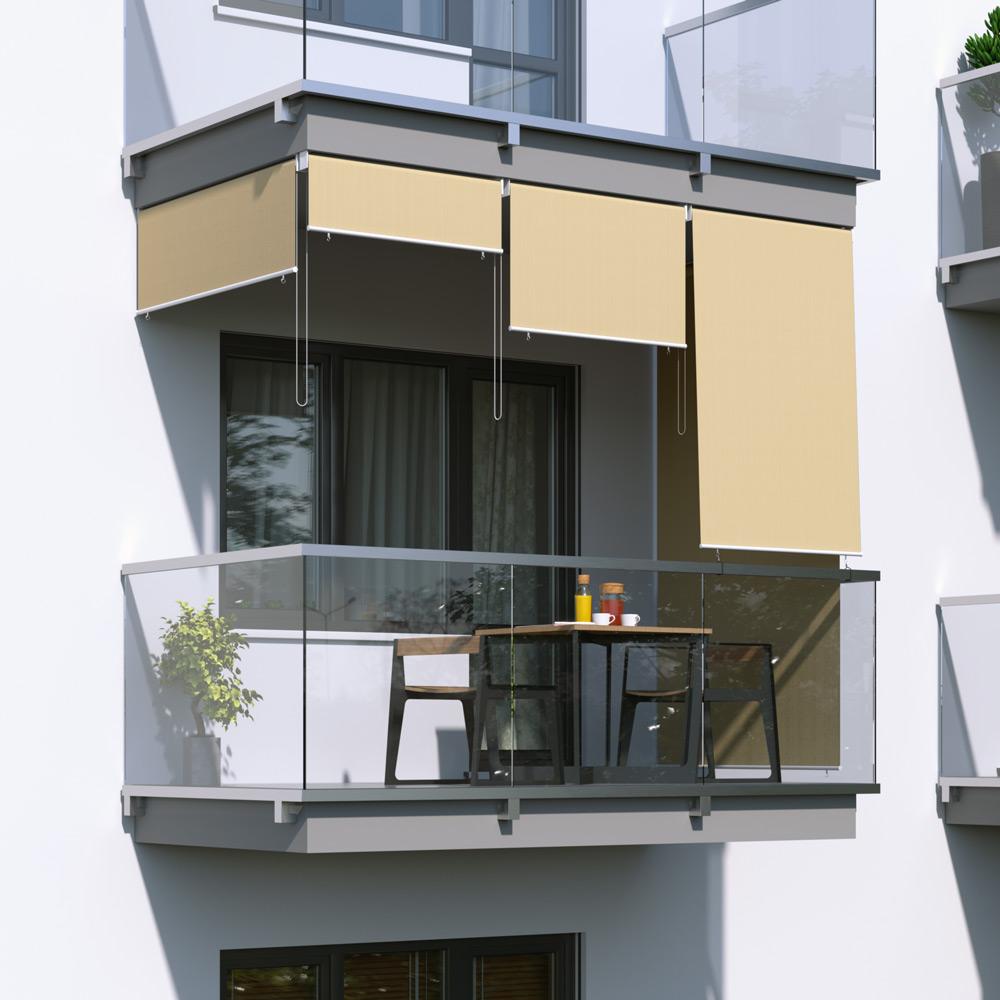 Roleta na balkon/markiza pionowa, Piaskowy