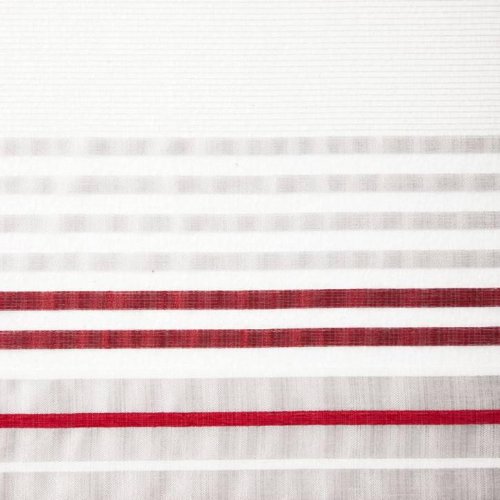 Zasłona transparentna gotowa, wzory geometryczne