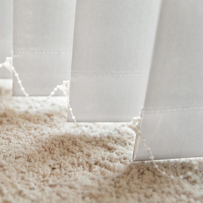 Przyciemniające lamele do żaluzji pionowych Victoria-M, Biały