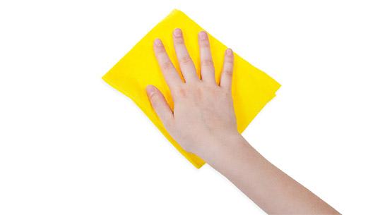 Czym czyścić rolety materiałowe?